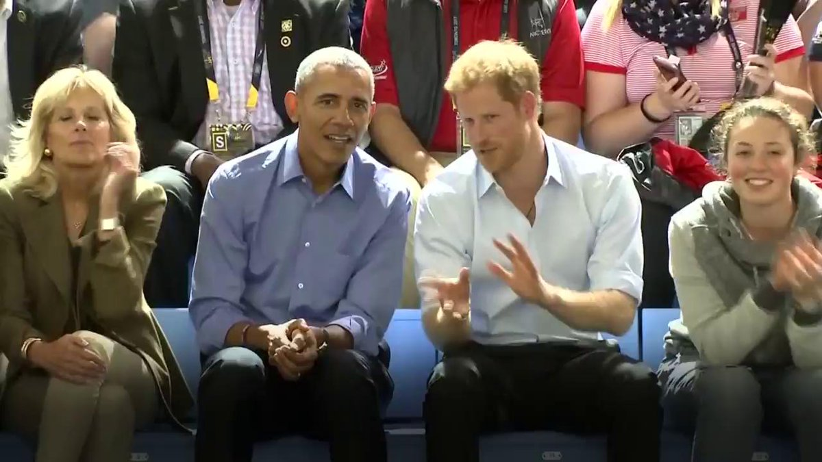 RT @esquire: Prince Harry and Barack Obama are total bros https://t.co/iluuhyRfPF