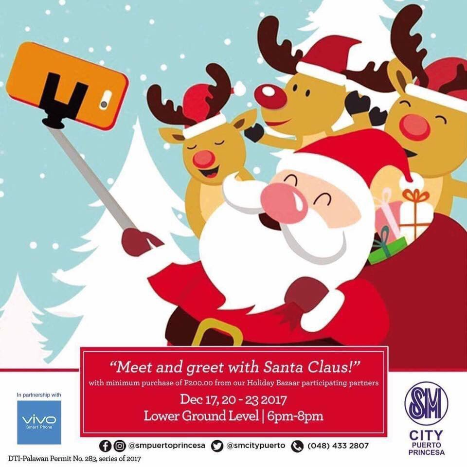 Sm Supermalls On Twitter Meet Greet Santa Claus At Sm Puerto