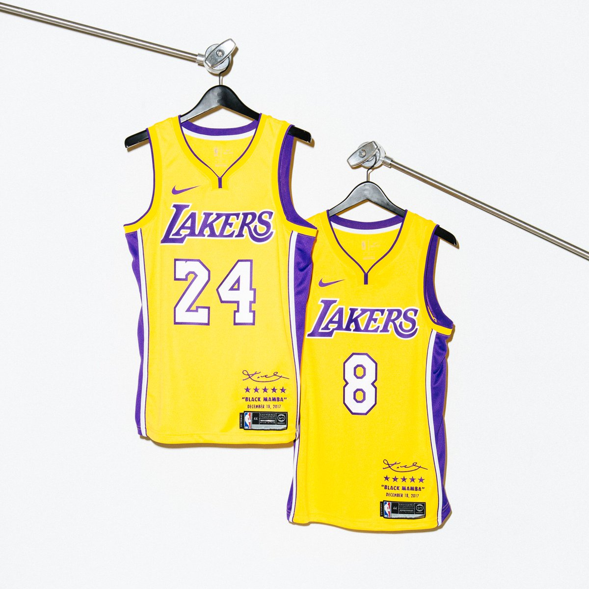 17dde7438 Nike x Kobe Bryant Limited Edition Retirement Jersey    Available Monday 12  18 at Undefeated La Brea.pic.twitter.com eUVgySTqHX