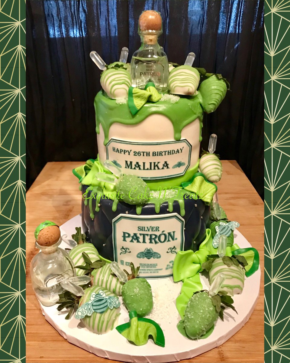 Miraculous Ebony Chatman On Twitter Patron Cake Patron Cake Personalised Birthday Cards Veneteletsinfo