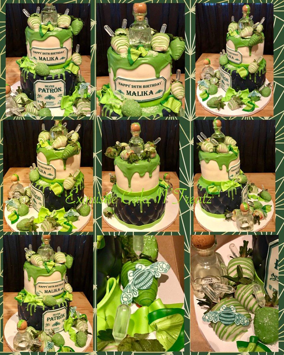 Ebony Chatman On Twitter Patron Cake Patron Cake