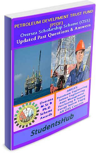 Ptdf past questions 2002-date