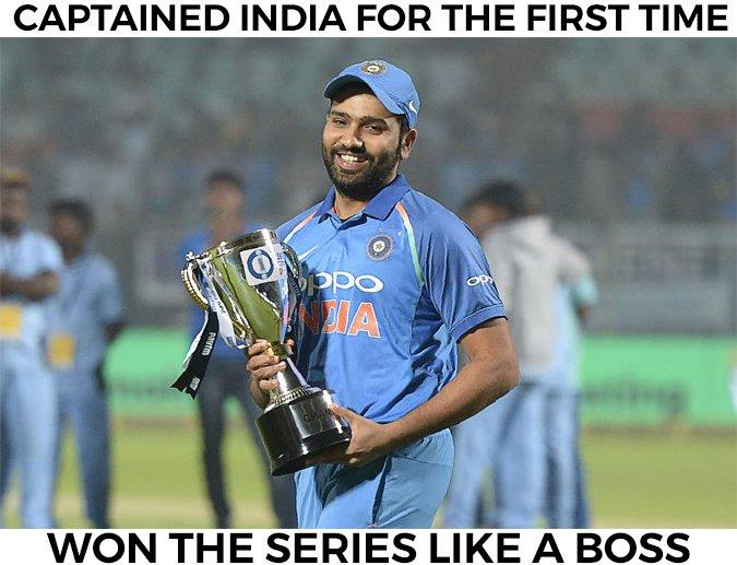 Rohit Sharma has had a good start to his captaincy career.