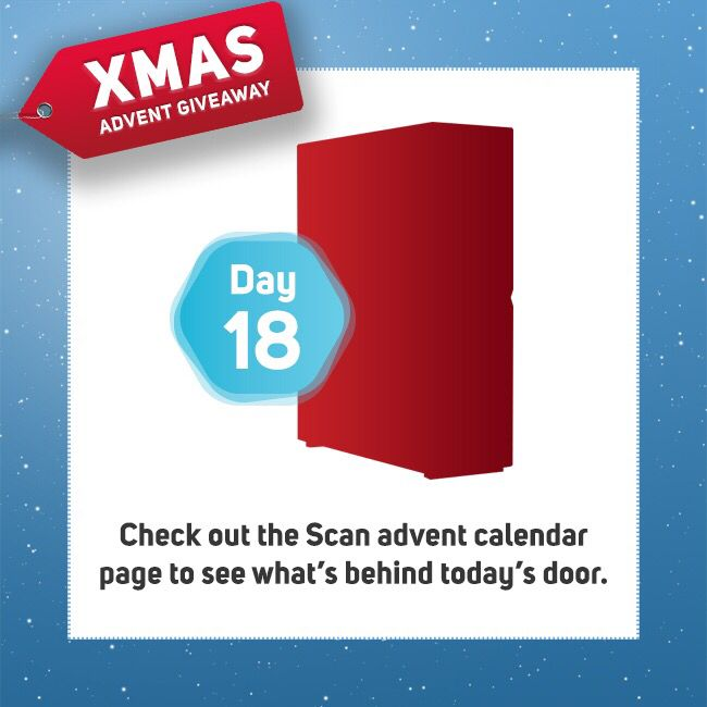 Day 18 of our #AdventCalendar! See here: https://t.co/4HLbgEESqw for todays prize! Follow our pages to keep up to date! #Win #prizes #freestuff #xmas #Competition https://t.co/pVdAN0YSwA