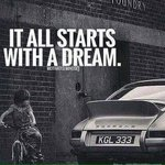 What was your 4 wheeled dream as a child? #MondayM...