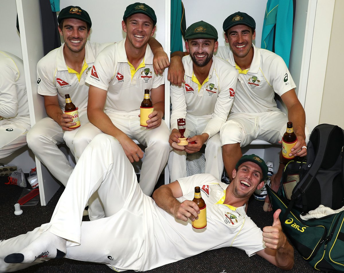 Australia have their hands back on the Ashes