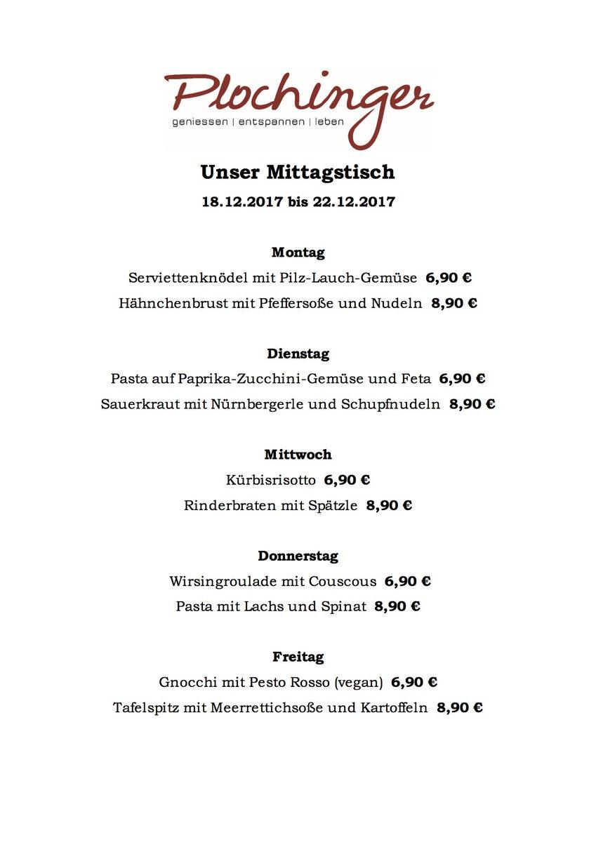 Restaurantplochinger على تويتر Guten Morgen