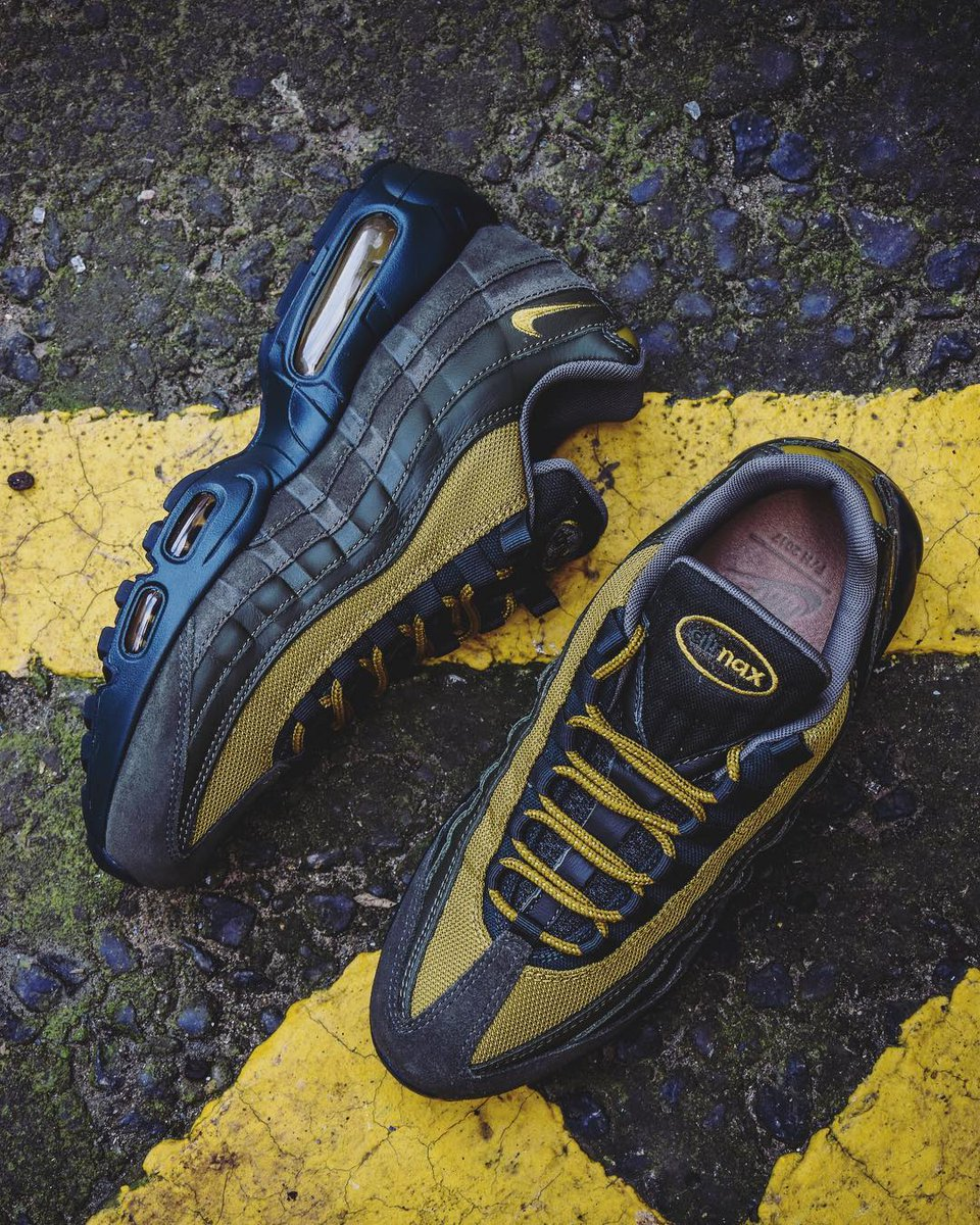 best website 5ece6 441af The covetable  nikesportswear Air Max 95 returns, this time the iteration  has been constructed with layered leather uppers in tonal hues of sequoia  and ...