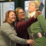 """Taking an """"Elfie"""" at Sward! #swd123"""