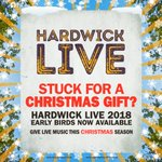 Say it with the gift of live music this Christmas! ⛄️ #HardwickLive18  TICKETS: https://t.co/wFMKQ33YaV