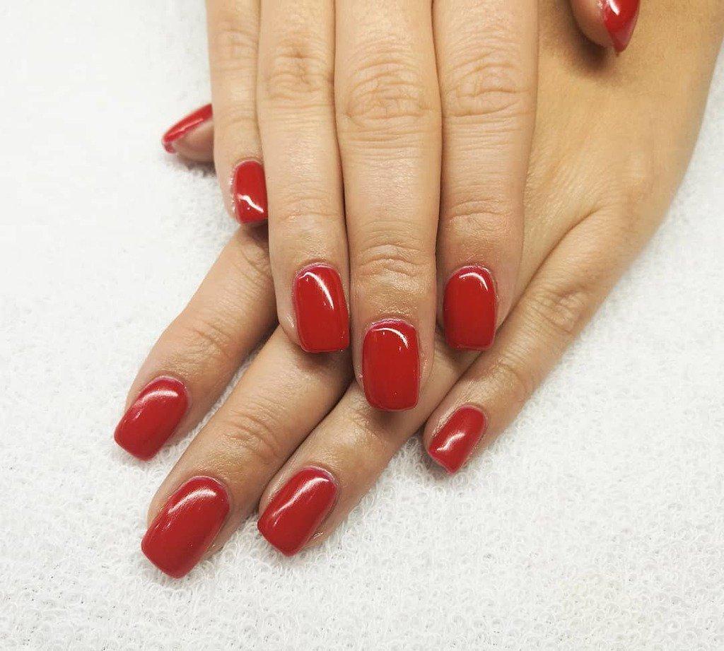 Revive Nail Beauty On Twitter Uñas De Gel Rojas Con