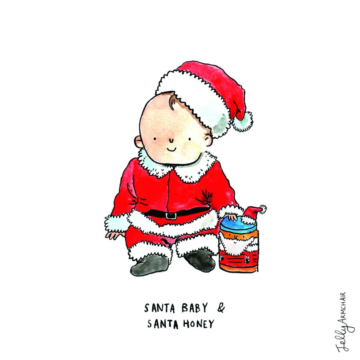 Cute Christmas Puns.Jelly Armchair On Twitter A Cute Santa Baby Puns Cards