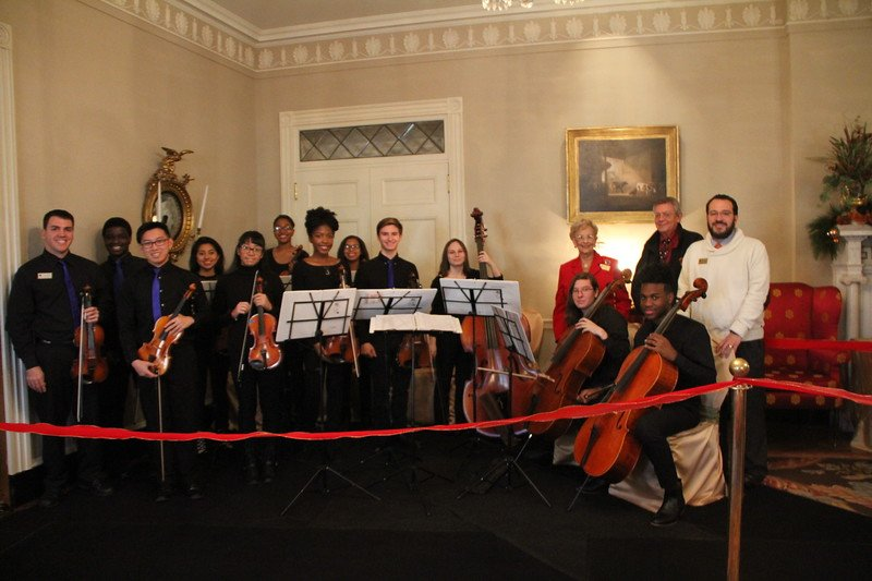 test Twitter Media - Thank you to GA's First Lady Mrs. Sandra Deal for hosting the PHS Orchestra at the Governor's mansion last week. https://t.co/zOQTJqmwjr