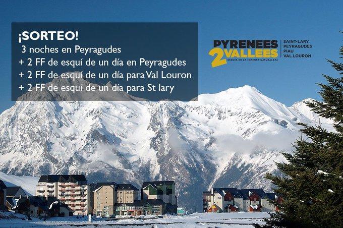 Arrancamos la semana con otro MEGASORTEO 🎁3 noches en @Peyragudes cortesía de #Pyrenees2Vallees [ENTRA Y PARTICIPA] ➡️https://t.co/43tWq1iBlv
