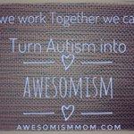 RT @AwesomismMom: #MondayMotivation #autism #aweso...
