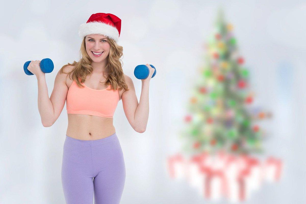 Поздравление на новый год от фитнес-клуба