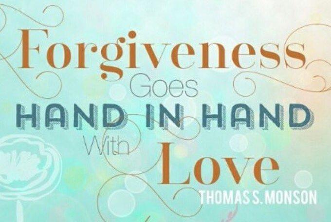 #Forgiveness goes hand in hand with #love   via @LauriDMeizler  #ThinkBIGSundayWithMarsha #MondayMotivation #MotivationMonday #InspireThemRetweetTuesday #TuesdayThoughts #IQRTG #JoyTrain #Love #Life #SuperSoulSunday #Gratitude #SuccessTRAIN #mindset <br>http://pic.twitter.com/GVxFgE8z9C