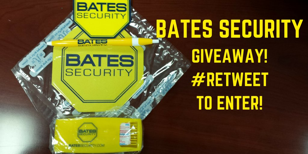 We&#39;ve got a bag of Bates goodies for giveaway! Follow and RT to enter our #Giveaway! #Win #Free #Freebie #Giveaway #Winner announced 12/21 <br>http://pic.twitter.com/OAMA3ASTY7