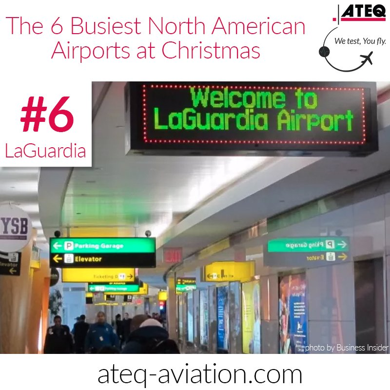 ATEQ Aviation ATEQAviation Twitter - The 6 busiest north american airports at christmas