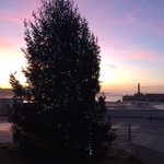 Margate is looking very christmassy this afternoon! 🎄