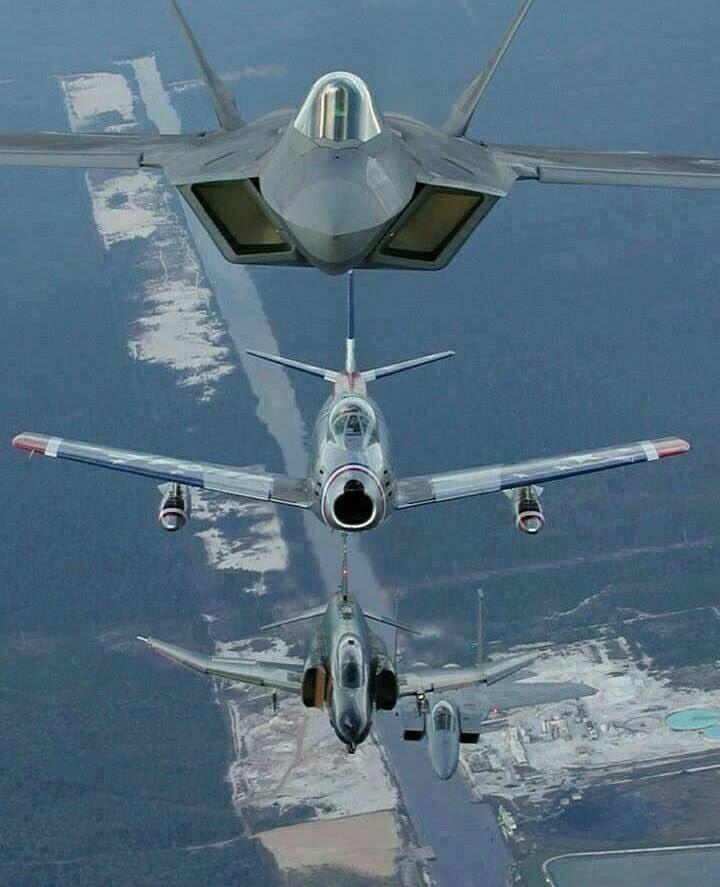 Generations of aircraft! #military #veterans #patriot #POW #MIA #KIA @RealDeanCain @GarySinise @RealJamesWoods <br>http://pic.twitter.com/258pCNyQwj
