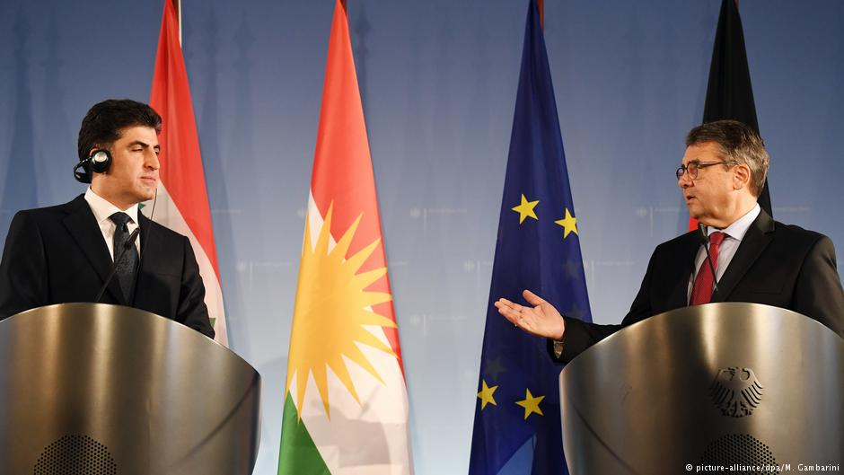 Germany's foreign minister has called on the leaders of Iraqi Kurdistan to 'peacefully' resolve disputes with Baghdad https://t.co/j94t5s7szz