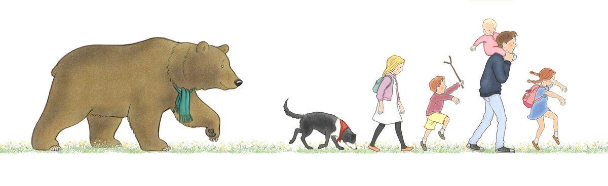 """Walker Books on Twitter: """"Hooray! We're Going on a #BearHunt is ..."""