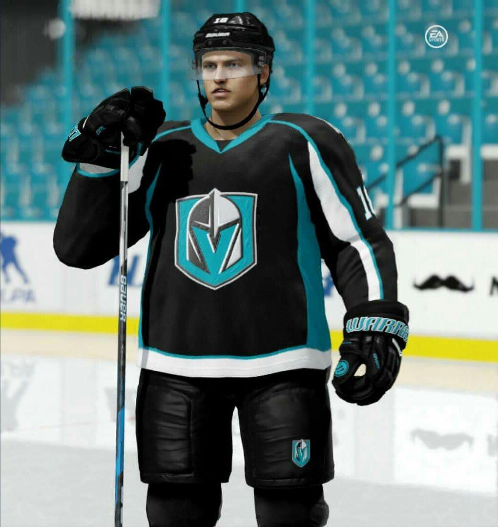 New home uniforms debut tonight!!  NHL  NHL18  EASHL  BackInBlack  Rammer34   EASPORTSNHLpic.twitter.com 40r3DL6NBv bae9f85b48d