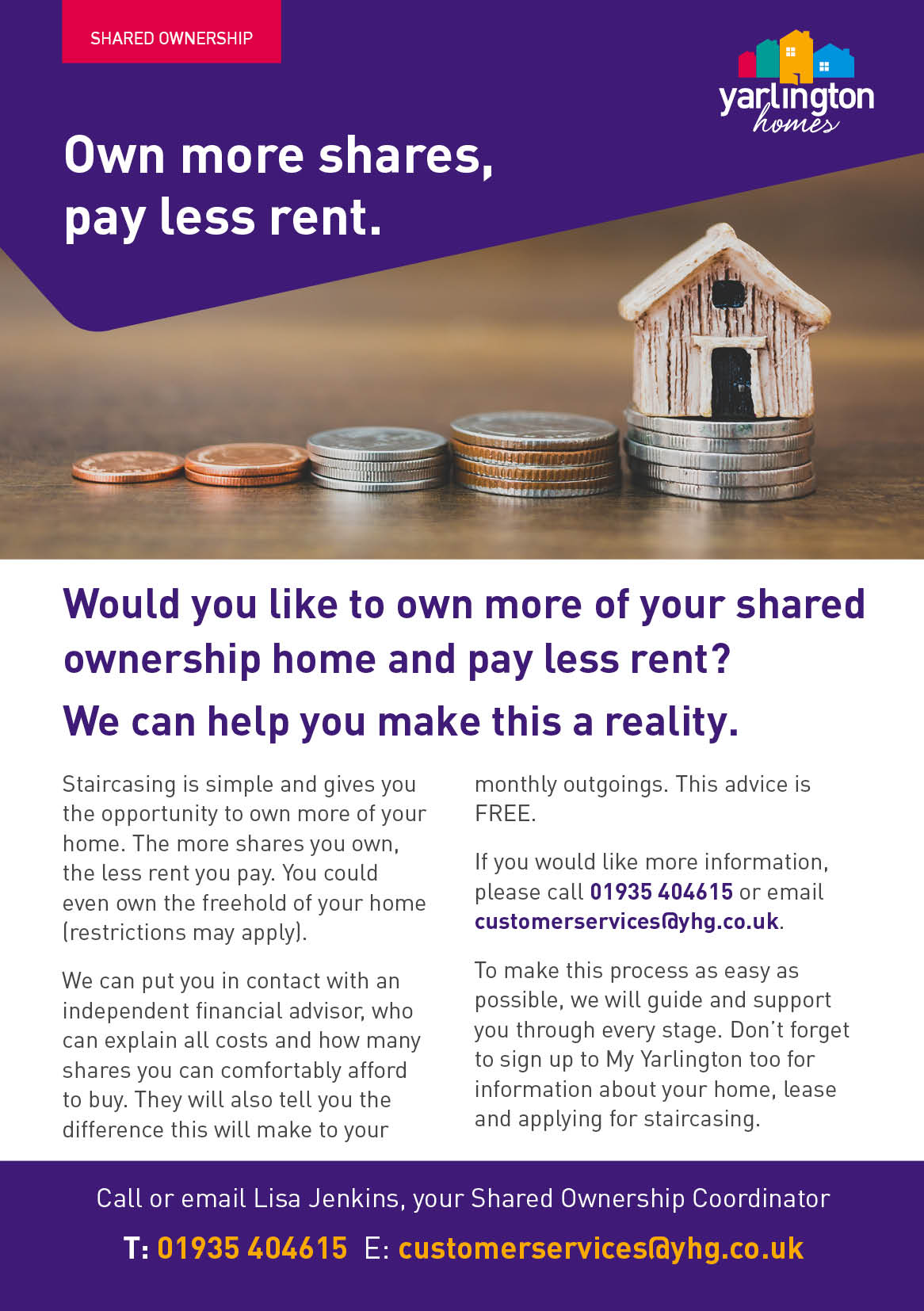 yarlington housing on twitter own more of your property and pay