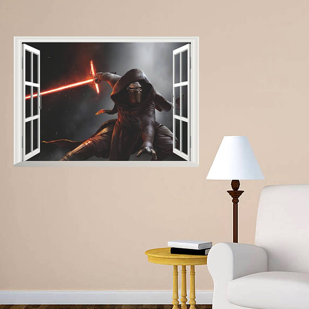 Wall decals walldecalsie twitter perfect giftidea for every starwarsfan order before 12pm wednesday the 20th of december to make sure your parcel arrives on time for santa amipublicfo Gallery