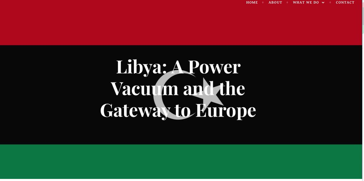 New blog piece 📖 on #MigrantsDay looking at #Libya's complex past and what can be done about its future... https://whatsinitforafrica.eu/blog/libya-a-power-vacuum-and-the-gateway-to-europe/ … #Europe #WIIFA #Africa #EUAfricabxl