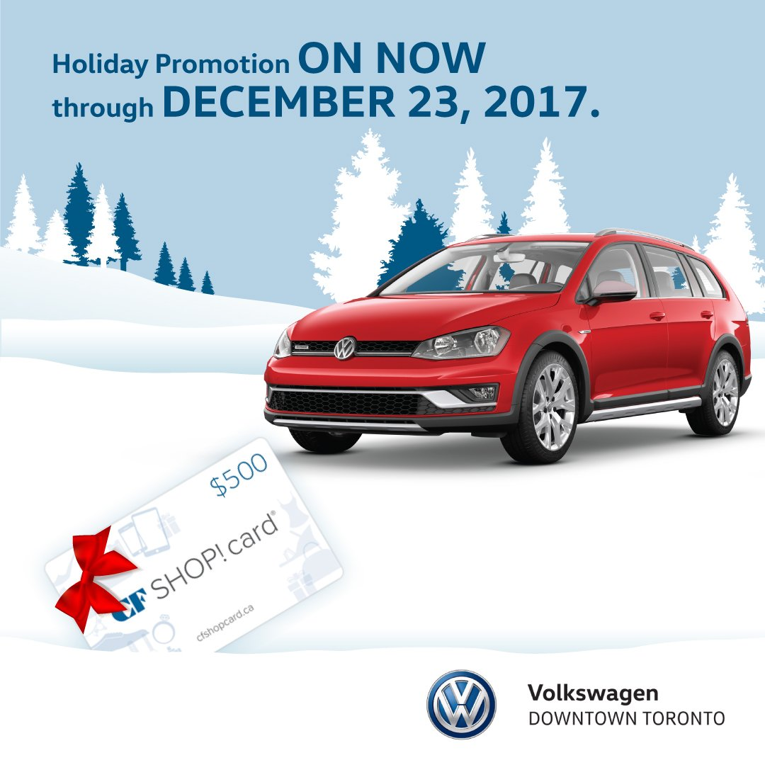 Volkswagen Downtown Toronto >> Vw Downtown Toronto On Twitter Finish Your Holiday