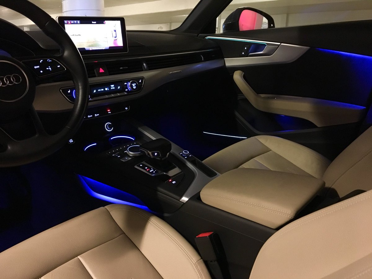 Audi A4 2020 Ambient Lighting - Supercars Gallery   Audi A5 2017 Ambient Lighting      Supercars Gallery