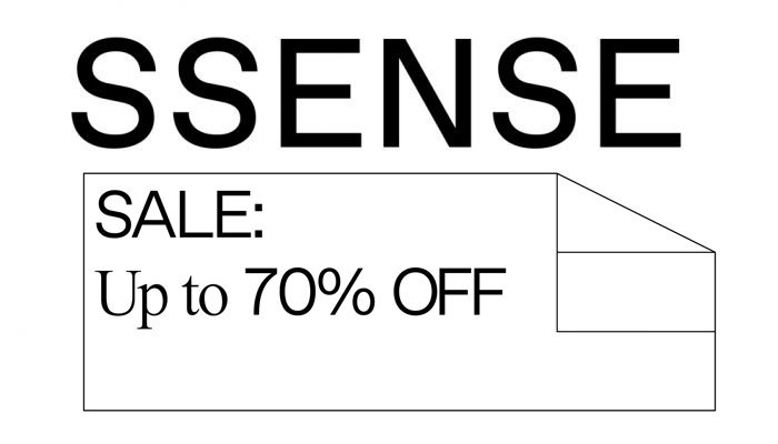 0d9d71bb3 ... up to 70% OFF at  SSENSE. New price reductions have rolled out site  wide and there is a lot of last size items for huge discounts   http   bit.ly 2f5PYxJ ...
