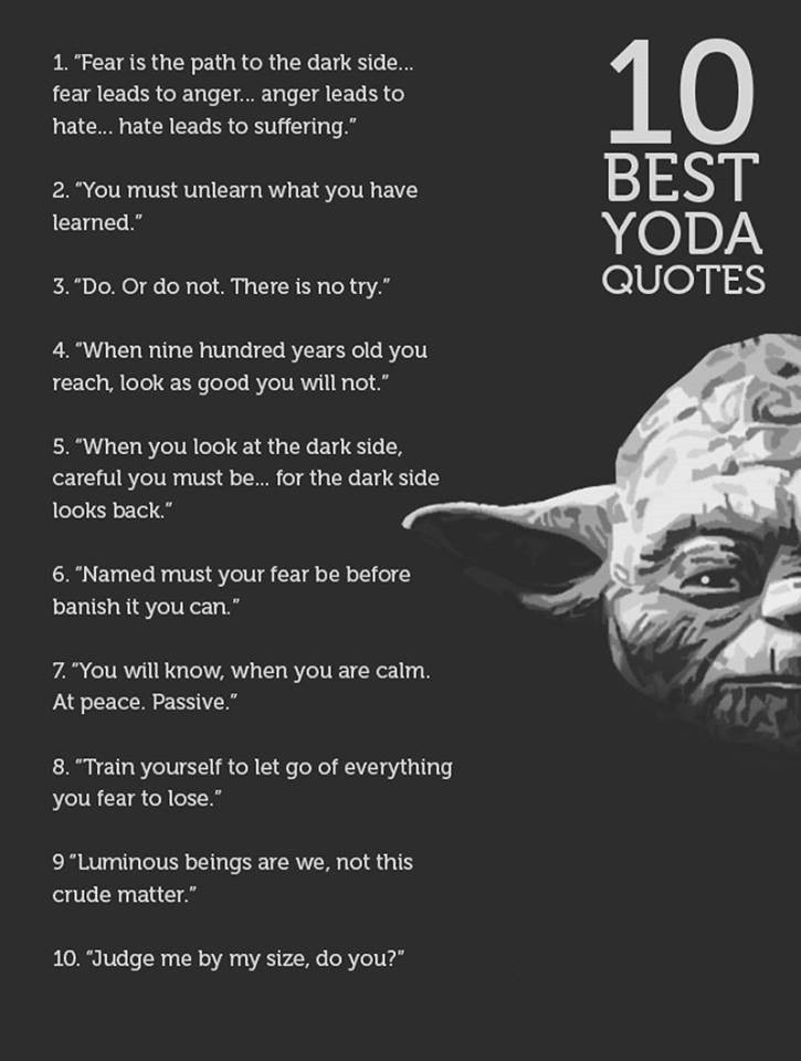 Farshid Safis Tweet Add One More To The List Of Yoda Quotes
