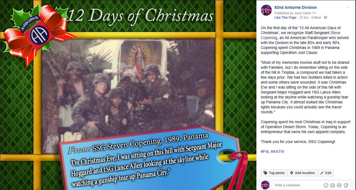 Some great memories and stories! The 12 AA Days of Christmas is a tradition that dates back to 1921 and runs each year from Dec 14 to Christmas ...