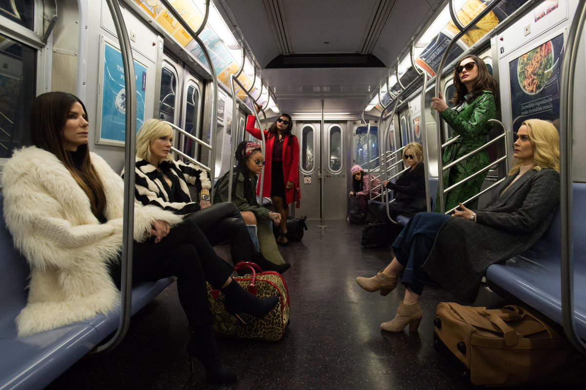 The first trailer for #Oceans8 is here, and it's iconic 🔥 https://t.co/wmSuGjUuuD