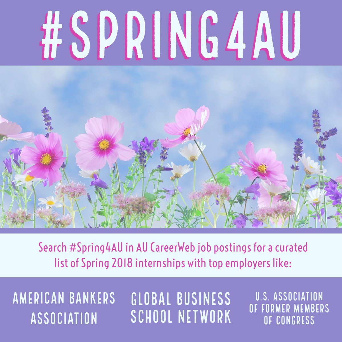 Au Career Center On Twitter Search Spring4au In Au Careerweb Job
