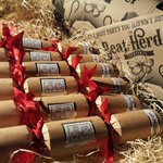 OK.. one last giveaway! We've got 5 sets of these lovely hand-stuffed crackers up for grabs.   1 cracker in 1 of the sets will contain a ticket for @Beatherder 2018... Ho, flippin' Ho! LIKE, RT & FOLLOW to be in with a chance (OVER 18's ONLY) ENDS WEDNESDAY! HERD EM UP. xxxx