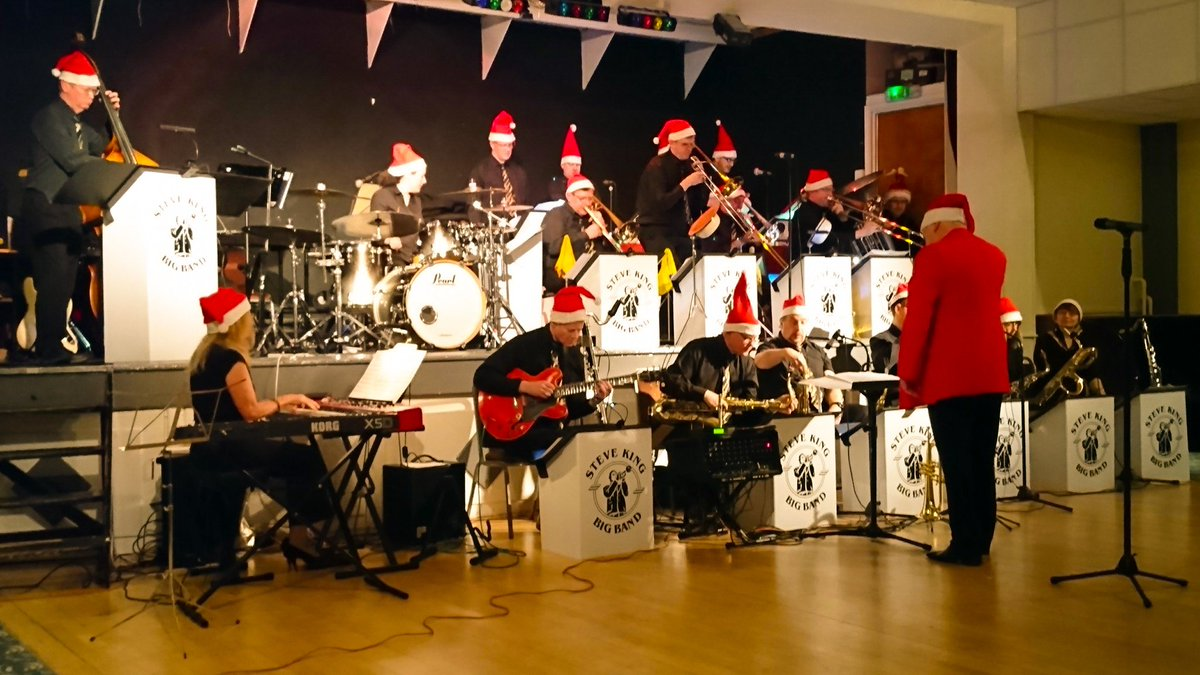 steve king big band on twitter the band in action at last nights christmas show more on our facebook group page steve king big band bigband - Big Band Christmas