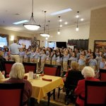 Mary Bryan's Mary Minstrel Choir sing at Magnolia Springs