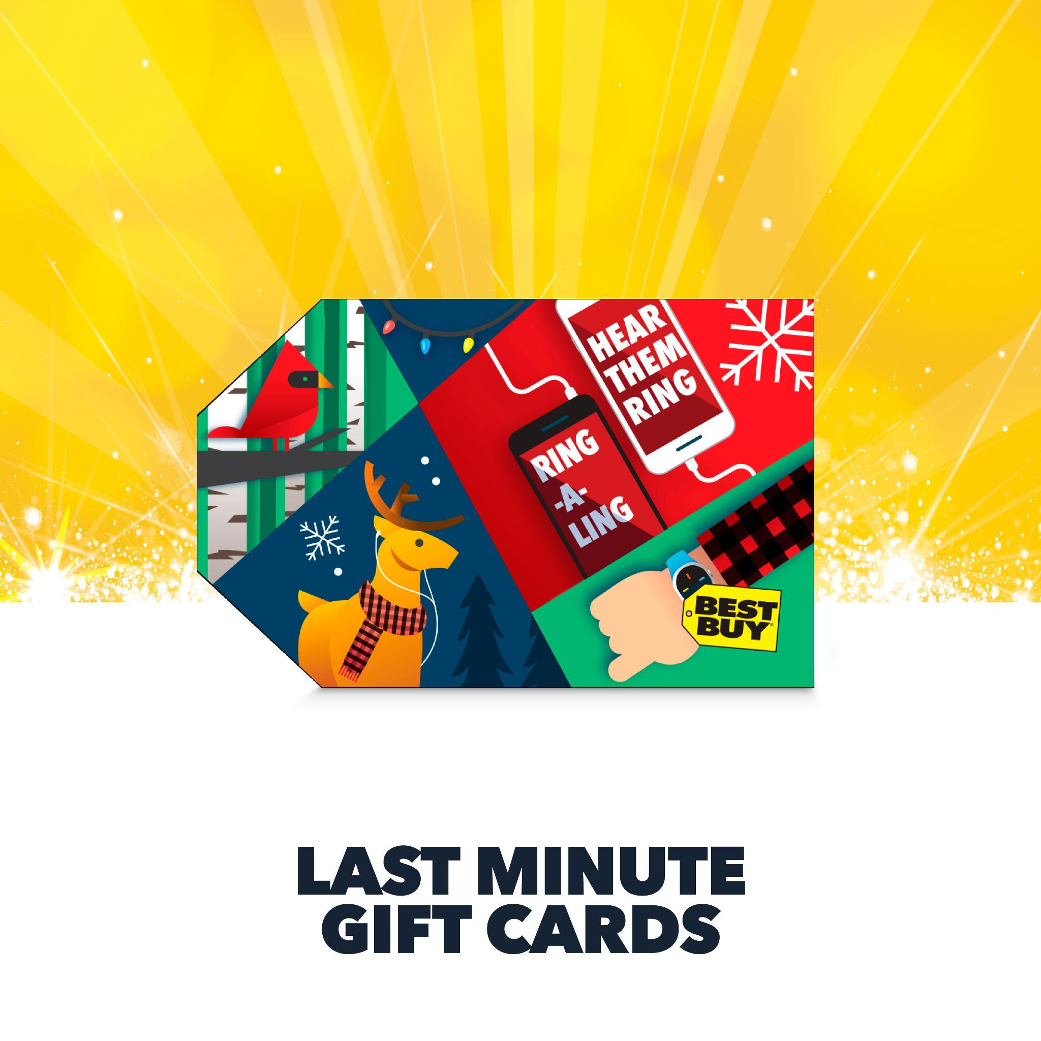 Still don't know what to get them? We've got the answer: GIFT CARDS. https://t.co/1t0GZGhACy https://t.co/eqttGBp7Y2