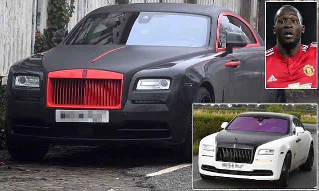 Romelu Lukaku paints £250,000 Rolls Royce Ghost in Man United's famous red and black colours https://t.co/UPuL4BPb6E
