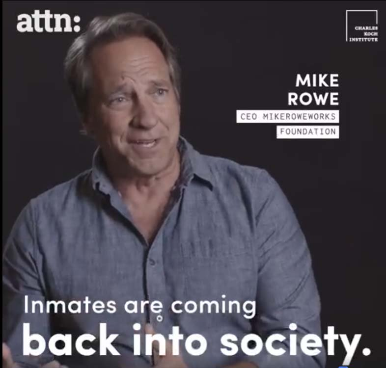 """#OffTheWall – """"Saw you in a video about hiring #convicts . When did you become a bleeding-heart? Why the hell would you give a job to a criminal instead of a qualified #tradesman who never broke the law?  Jared J. #READ &amp; #Watch the video -  http:// bit.ly/2B9hBRJ  &nbsp;    @attn <br>http://pic.twitter.com/ENti2yoUz8"""