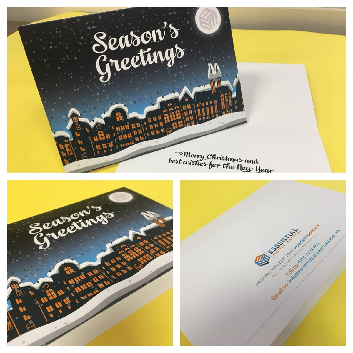 print spin on twitter check these a5 christmas cards we have