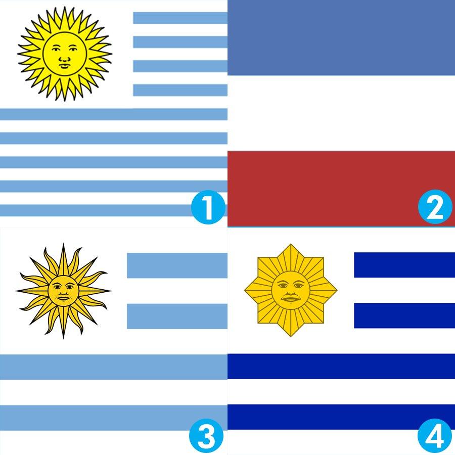 Cual es la primera bandera