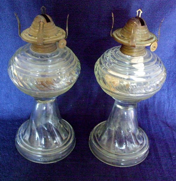 Pair Vintage Dabs Portuguese Clear Swirl Glass Oil Lamps Mid Cent  #vintagelighting #retro #Decor #interiors #Decoration #Vintage #followvintage #giftideas #vintagehome #vintagedecor #gotvintage #etsy  #vintageshowandsell  #etsyforall #vintagegifts #lamps  https://www. etsy.com/uk/listing/527 891190/pair-vintage-dabs-portuguese-clear-swirl?ref=shop_home_active_59ury &nbsp; …  <br>http://pic.twitter.com/AWOOZJzsS1