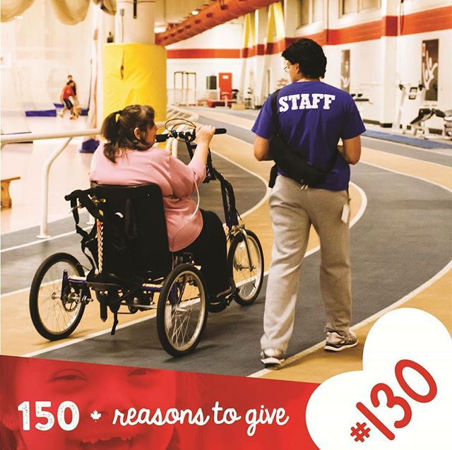 #ParaSport Ontario believes there are a million reasons to give to Variety Village. The dedicated staff work hard to make sure that everybody has the opportunity to participate in sports and play at our #AllAbilityFacility making them reason #130 of our #150Reasons to Give!<br>http://pic.twitter.com/v8GmTroHWv