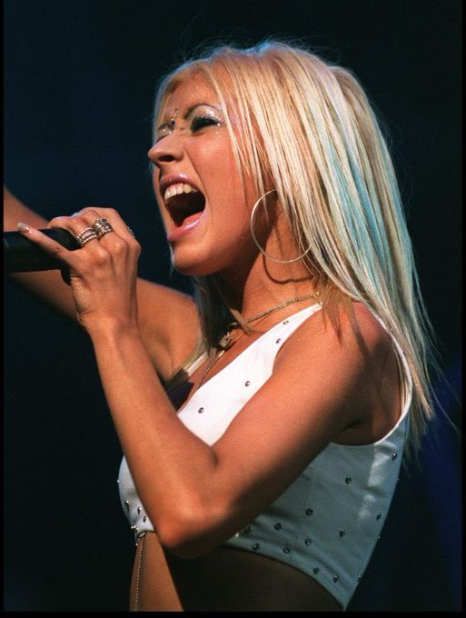 Happy bday Christina Aguilera