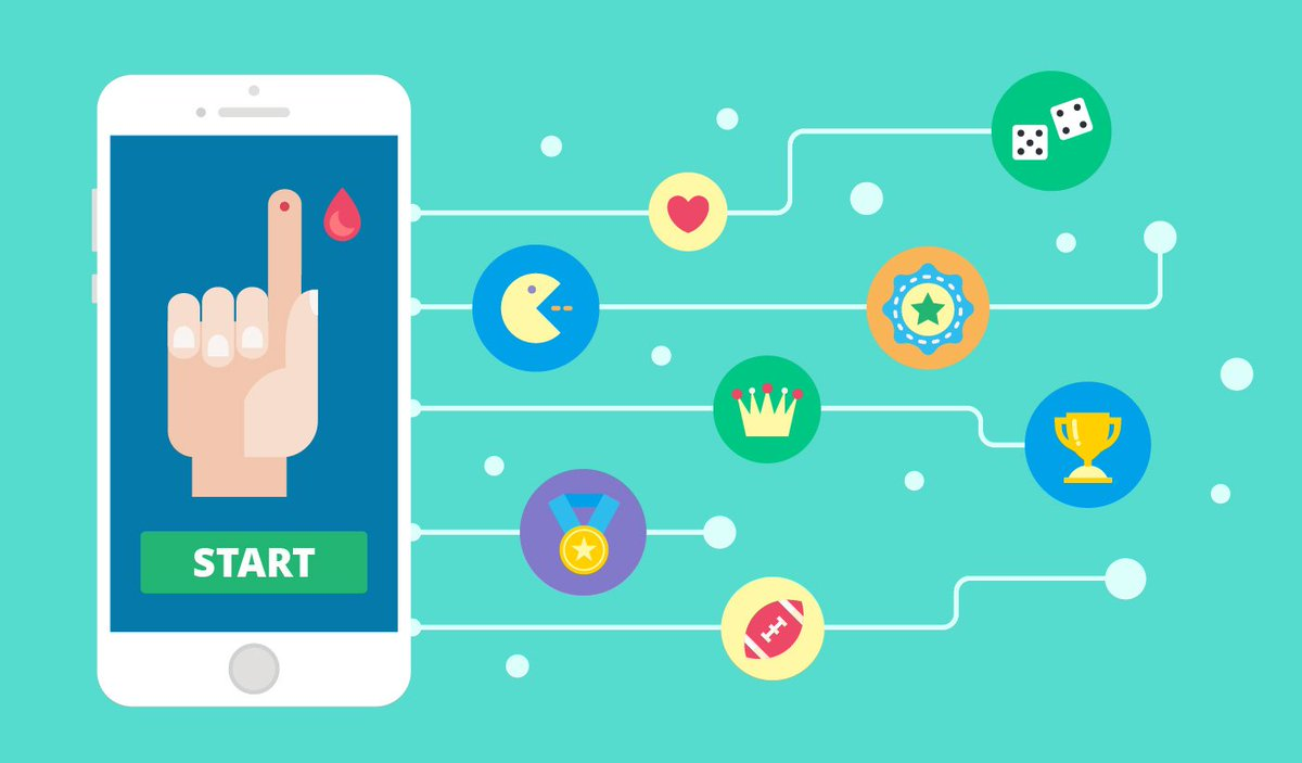 Gamified #apps, devices, and therapies will gradually appear in every field of #healthcare making behavior change easier and more #fun. Here are the greatest examples of gamification:  http:// bit.ly/2uHHnb7  &nbsp;   <br>http://pic.twitter.com/hdONmzUkoK